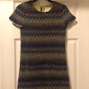 Kate Spade Wool Short Sleeve Dress